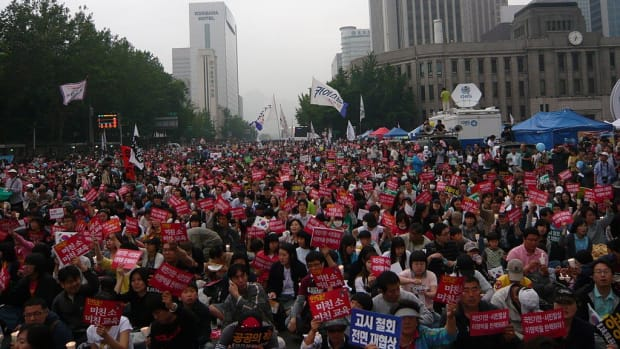 South Koreans Plan Huge Protest Against Trump Promo Image