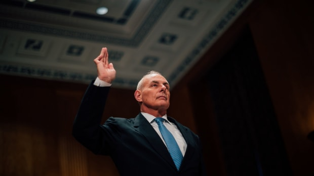 John Kelly Reacts To Trump's U.N. Speech (Photos) Promo Image