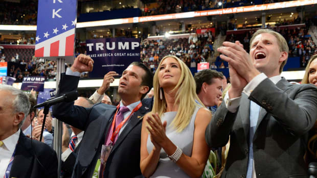 Report: Ivanka Trump And Trump Jr. Dodged Fraud Charge Promo Image