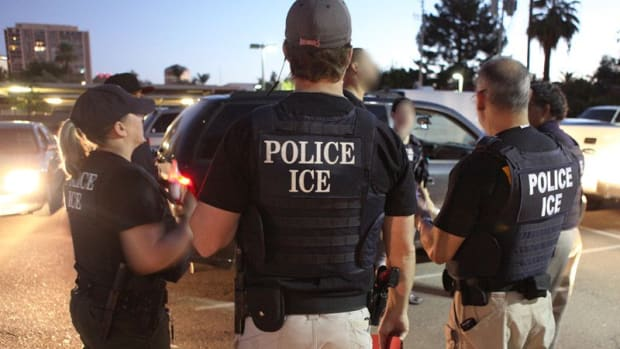 ICE Charters Weekly Plane To Deport Immigrants Promo Image