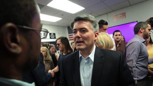 Sen. Cory Gardner: Senate Should Expel Moore If He Wins Promo Image