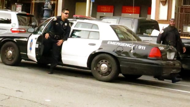 Did Cop Shove Skateboarder, Cause Horrific Crash? (Video) Promo Image