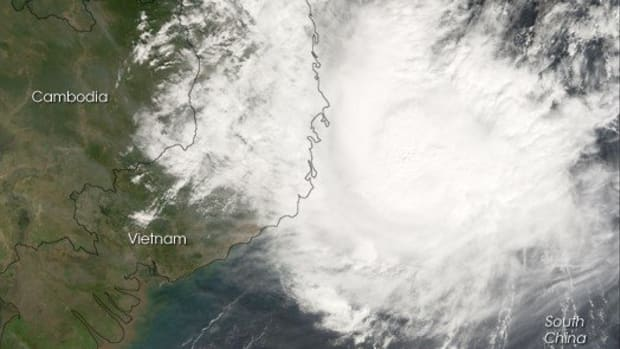 Vietnam Endures Deadly Storm Days Before APEC Summit Promo Image