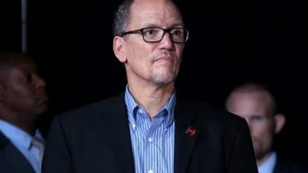 DNC Chair Perez: 'I Am Not Talking About Impeachment' Promo Image