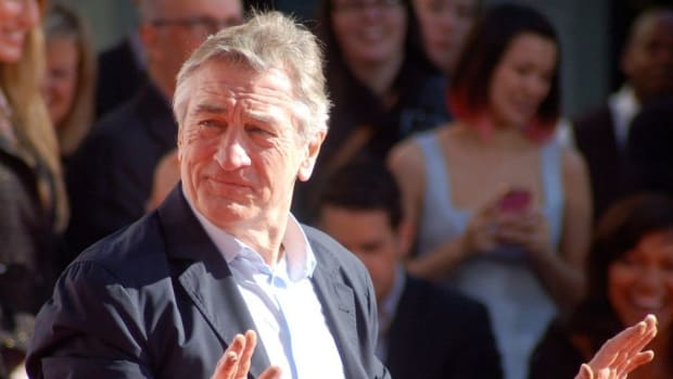 De Niro Denounces Trump As 'Racist' Promo Image