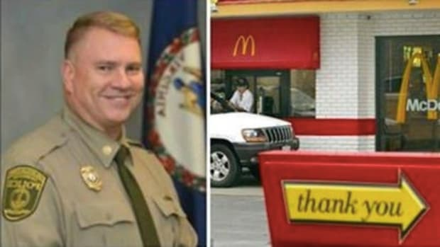 McDonald's Boss Replies After Burger-Flipper Says He 'Won't Serve No Cop' Promo Image