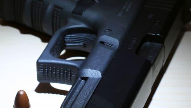Police Seek Dad Who Shot Daughter's Boyfriend In Groin Promo Image