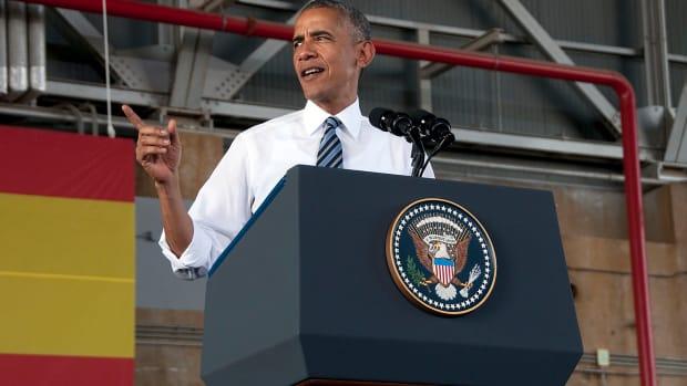 Obama Jokes About Confederate Ancestor Promo Image