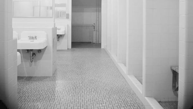 Sanitary Pad Mistaken For Fetus In School Bathroom Promo Image