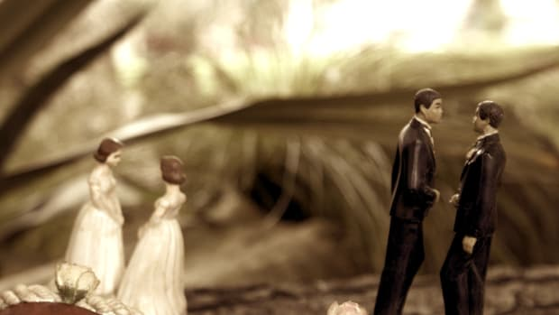 Same-Sex Wedding Cake Debate Heads To Supreme Court Promo Image