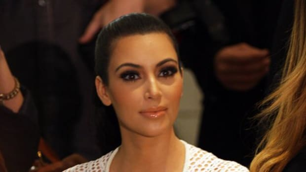 Kim Kardashian Poses Nude In Glitter (Photo) Promo Image