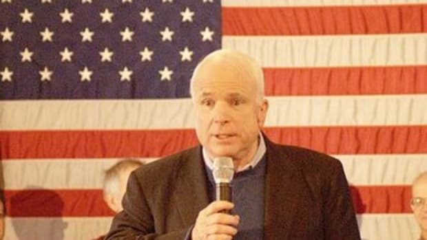 John McCain Blasts Trump In Speech Promo Image