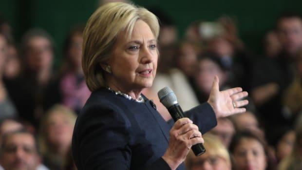 Hillary Clinton Calls Trump A 'Creep' In New Book Promo Image