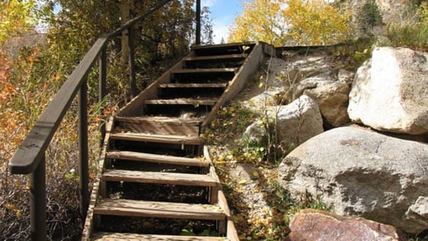 City Angered After Man Builds Public Staircase For $550 (Photos) Promo Image