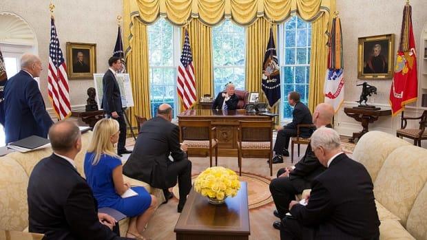 Zogby Poll: Warren Beating Trump In Battleground States Promo Image