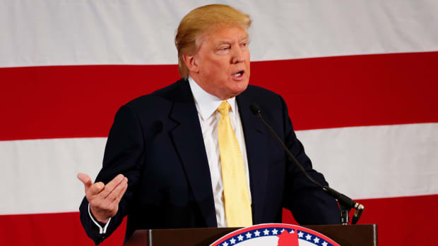 Muslim Leaders Seek Comment From Trump On Mosque Bomb Promo Image