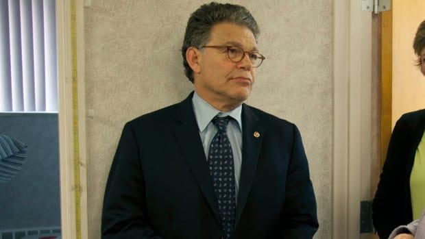 Sen. Al Franken Accused Of Second Groping Incident Promo Image