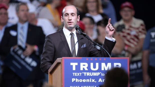 Trump Adviser Reportedly Escorted From CNN (Video) Promo Image