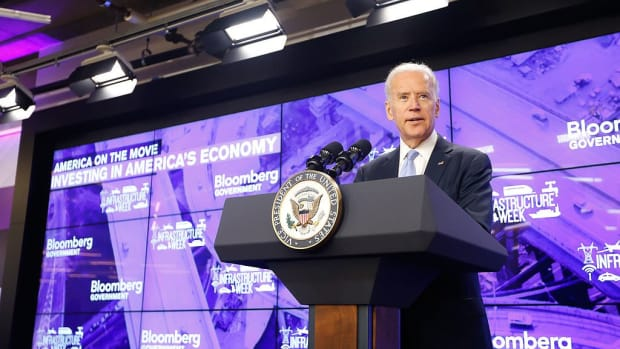 Biden Denounces Trump In Chicago Speech Promo Image