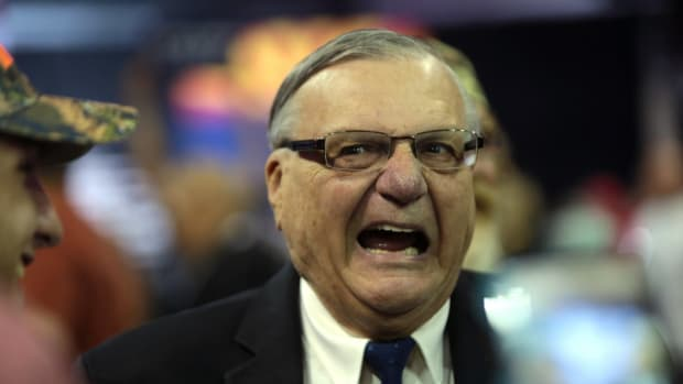 Judge Won't Clear Pardoned Joe Arpaio's Criminal Record Promo Image