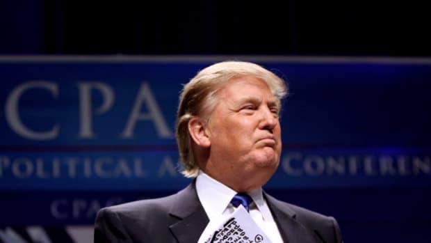 Trump Plays Golf As North Korea Tensions Rise (Photo) Promo Image