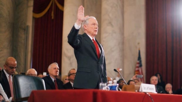 Case Dropped Against Woman Who Laughed At Jeff Sessions (Photos) Promo Image