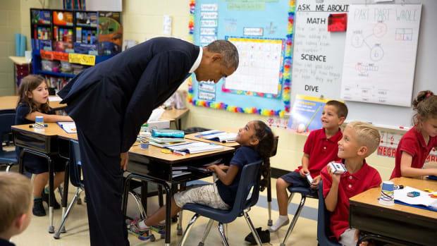 Mississippi School To Be Renamed After Barack Obama Promo Image