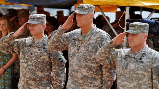 Debate Grows Over Renaming Army Bases Promo Image