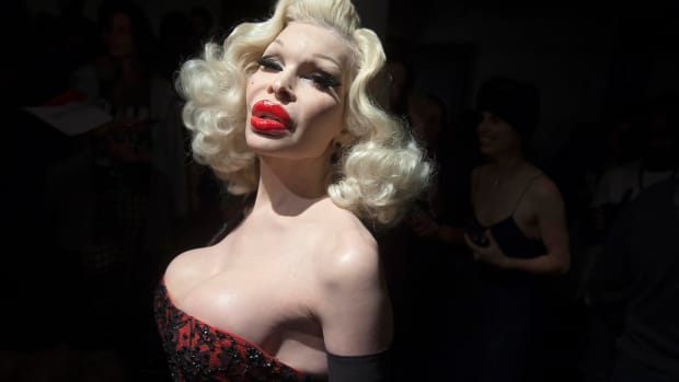 Amanda Lepore On Her 'Most Expensive Body On Earth' Promo Image