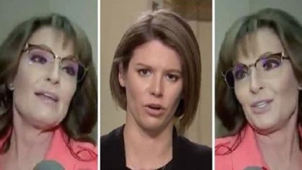 MSNBC Host Asks Sarah Pailin Why She Hasn't Been Sexually Harassed, Isn't Prepared For Her Reply Promo Image