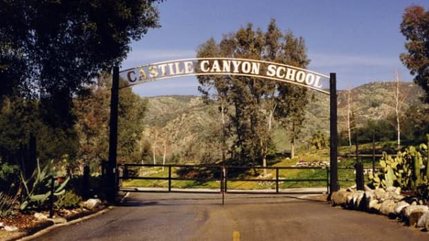 Until 2000, Castile Canyon Ranch housed a boarding school.