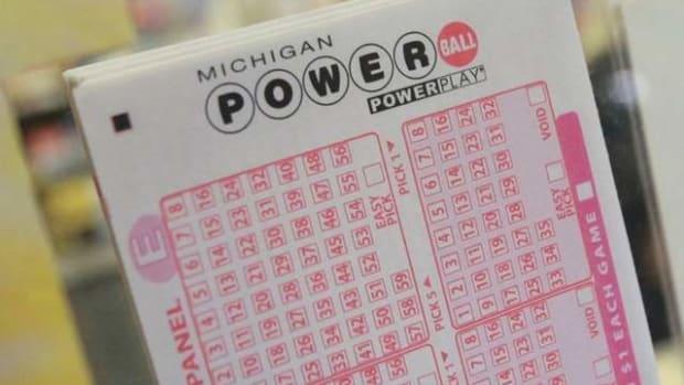 Michigan Powerball Ticket