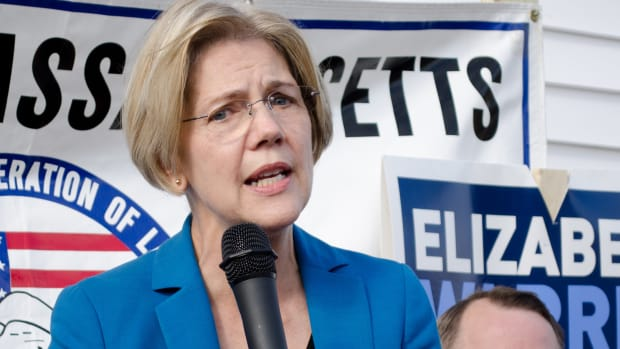 Sen. Elizabeth Warren.