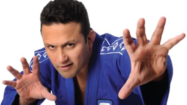 MMA fighter Renzo Gracie.