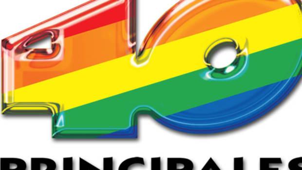 40 Principales Radio Station Logo