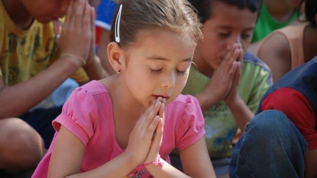 Children Praying.