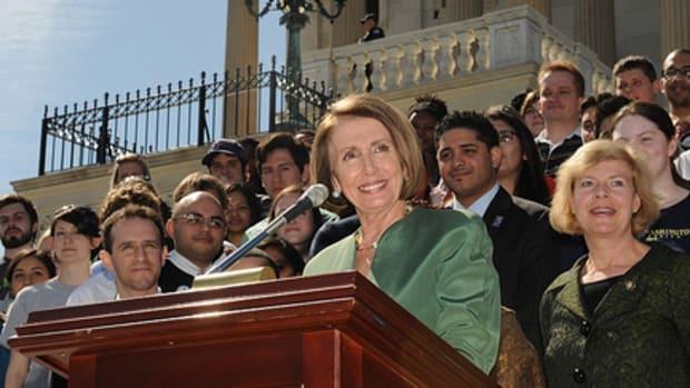Rep. Nancy Pelosi.