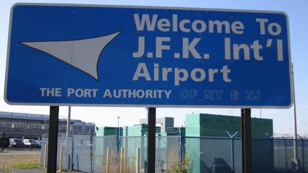 JFK Airport.