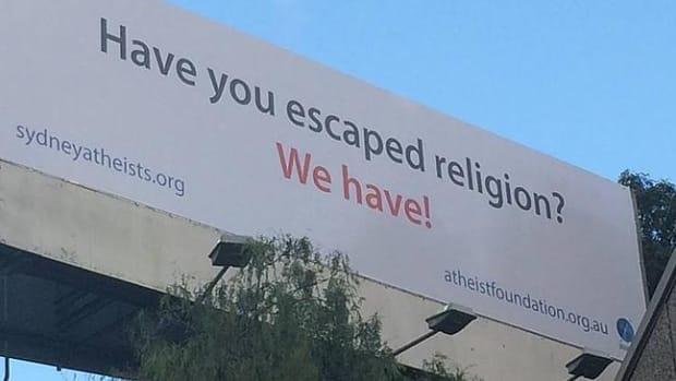 Sydney Atheists Billboard.