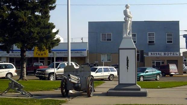 Taber, Alberta, Canada.