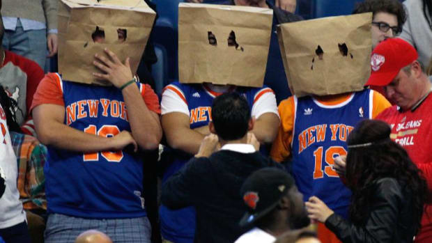 New York Knicks Fans.