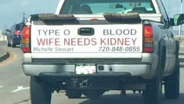 Michelle Stewart Kidney Truck.