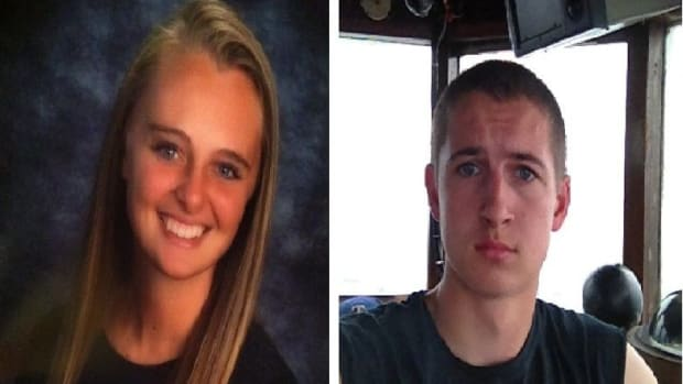 Michelle Carter and Conrad Roy III.