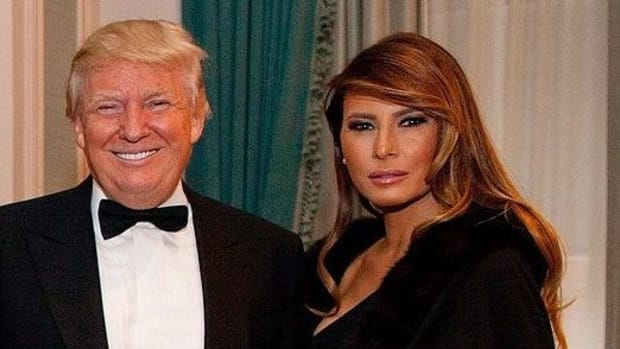 Melania Trump Sparks Outrage On Valentine's Day Promo Image