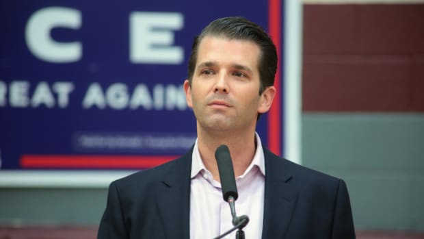 Trump Jr.'s Wife Opens Letter Containing White Powder Promo Image