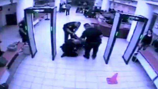Cops Slam Elderly Vet To Floor Of VA For Safety (Video) Promo Image