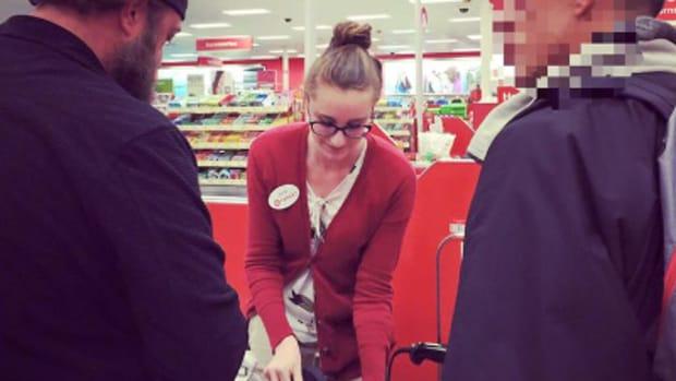 heartwarming moment at Target