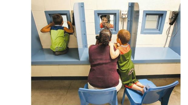 Study: Kids With Imprisoned Parents Disadvantaged Promo Image