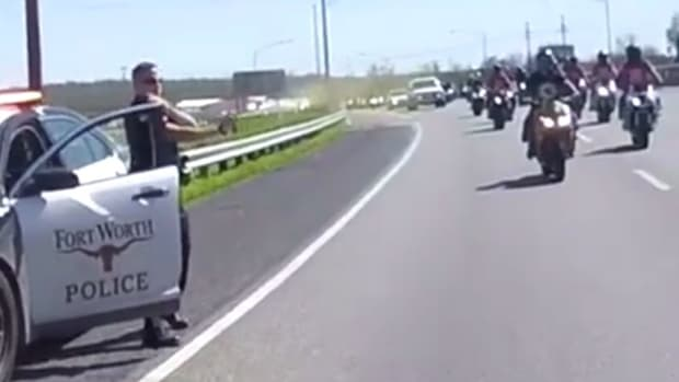 Texas Cop Uses Pepper Spray On Bikers (Video) Promo Image