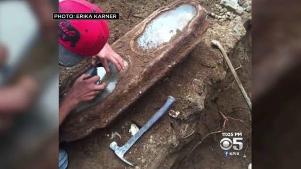 Renovators Stumble Upon 120-Year-Old Casket Promo Image